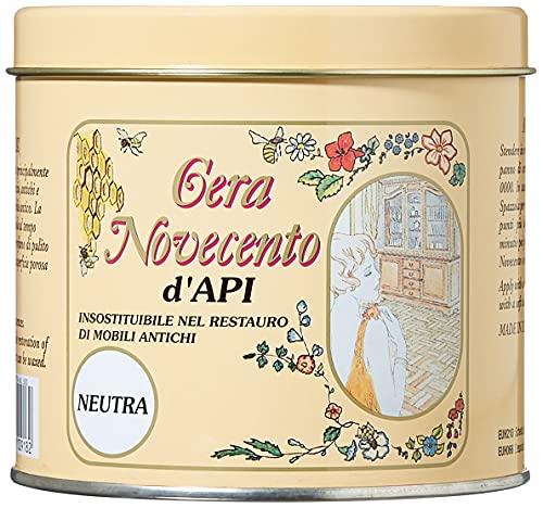 Novecento Y918 Cera d'Api, Neutro, 500 ml