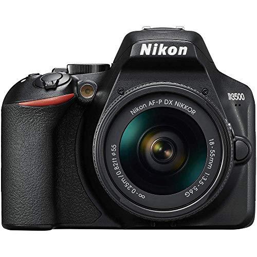 Nikon D3500 + AF-P 1855 Kit fotocamere SLR 24,2 MP CMOS 6000 x 4000 Pixel Nero