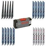 Bosch Professional 20tlg. Säbelsägeblätter ToughBox Top Seller for Wood and Metal (für Holz und Metall, Zubehör Säbelsäge)