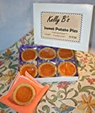 Sweet Potato PIE / Single Serving / Each Pie is a Delicious 2 Ounces / Individually Wrapped for Freshness / Six Pies Per Attractive Box