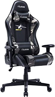 HugHouse Musso Ergonomic Gaming Chair Adjustable Esports Gamer Chair, Adults Racing Video..