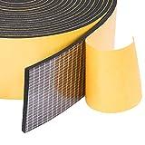 YoTacheスポンジテープ 気密防水パッキン すきまテープ 衝突防止 防音 防水 静音テープ 50mm (幅) x 3mm (厚さ) x 5m (長さ) x 1本