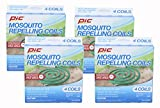 Pic C-8-24 Mosquito Repellent Coils, 4 packs of 4 (16 Coils))