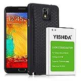 yishda Batterie 7000mAh pour Samsung Galaxy Note 3avec protection arrière...