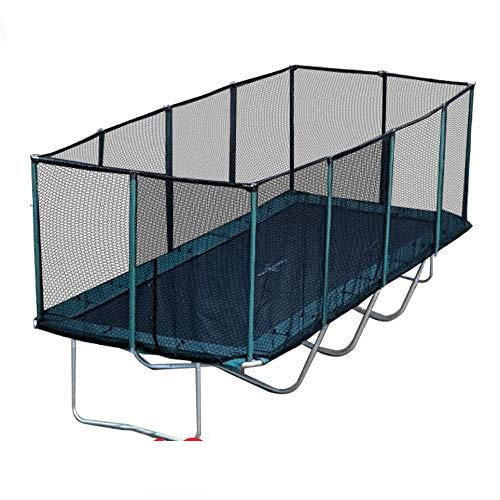 Best Trampoline USA - Galactic Xtreme Gymnastic Outdoor Trampoline with Net Enclosure - High Performance Commercial Grade I Life-time Warranty, Heavy Weight Capacity (10 X 23 Ft, 10X23 Rectangle)