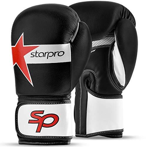 Starpro Guantoni Boxe per Sparring Kick Boxing Muay Thai Guanti Sacco Boxe Allenamento per Uomini e...