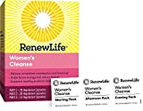 Renew Life Women's Cleanse - 3-Part, 14-Day Program - Dairy Free - Helps Boost Energy and Reduce Stress - 14 Daily Strip Packs (Packaging May Vary)