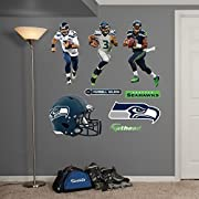 """Main product decal size is 52""""W x 39.5""""H Ideal for decorating any room in the home or office; safe for painted walls and other smooth surfaces! Just peel, stick and impress, it's that easy. No tape or tacks required. Fathead offers a thick high-grade..."""