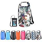OMGear Waterproof Dry Bag Backpack Waterproof Phone Pouch 40L/30L/20L/10L/5L Floating Dry Sack for...