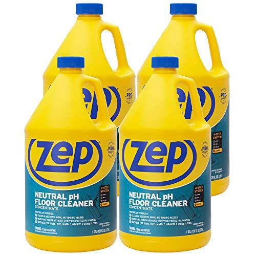 Zep Neutral pH Floor Cleaner 1 Gallon (Case of 4) ZUNEUT128 -...