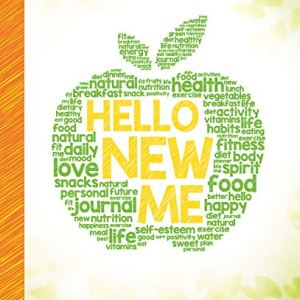 Hello New Me: A Daily Food and Exercise Journal to Help You Become the Best Version of Yourself, (90 Days Meal and Activity Tracker) 10 - My Weight Loss Today