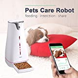 Hoison SmartFeeder Wi-Fi Programmable Dogs & Cats Feeder With LCD Light Dispenser, Electronic Timer Programmable, Compatible with Android and iOS