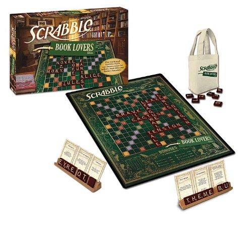 Amazon Com Book Lover S Scrabble Toys Games
