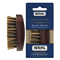 100 percent Boar Bristle : Our brush applies balms, creams, & oils far Better than synthetic bristles; use it to Massage the skin beneath Your beard to help prevent beard dandruff & residue for clean & Fresh Looking facial hair Premium Quality – Wahl...