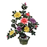 jinyi2016SHOP Bonsai Artificial Jade peona Flor Artificial Bonsai Chino Sala de Estar decoracin Artificial Bonsai rbol Fake Planta decoracin Decorativa Bonsai Falsas Plantas Decoracin