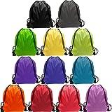 Drawstring Bag Bulk 48 Pcs String Backpack Bags Sport Gym Backpack Backpack 12 Color Cinch Bags