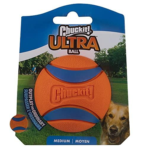Chuckit! 170015 Ultra Ball, 1 Pelota para Perros Compatible con el...