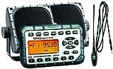 Jensen JHD910PKG Package - Includes JHD910 Waterproof Mini AM/FM/WB/Stereo, Pair of 3.5' Waterproof Mini Speakers and Top Side Rubber Antenna - ATV/UTV