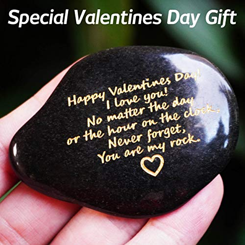 Valentines Day Special Gift You are My Rock Rare Unique Natural Polished Pebble (Color Random)