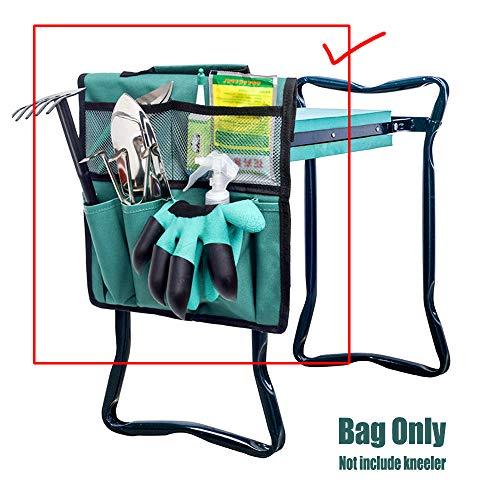 Garden Kneeler Werkzeugtasche, (Nur Werkzeugtasche enthalten)Kniestuhl Garten Tragbare Werkzeugtasche, Gartenhocker Garten Kniebank Storage Bag Tragbare Werkzeugtasche für Arbeiten um Haus und Garten