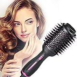 Hot Air Brush,Hair Dryer Brush, Hair Dryer & Volumizer, Styler for Straightening, Curling, Salon...