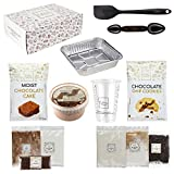 DIY Baking Activity Kit - Chocolate Chip Cookie & Moist Chocolate Cake Mixes, Baking Set & Baking Utensils for Adults, Teens, & Kids Baking , Perfect Baking Gift for Boys and Girls Ages 8-12