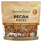 Nature's Eats Pecan Pieces, Natural, 24 Ounce