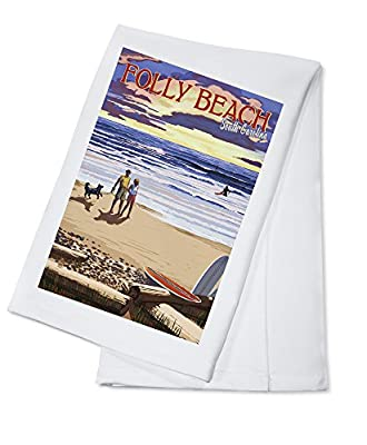 "Towel Size: 17"" x 22"", Printed in the USA! Made of 100% cotton, durable, washable Fade-resistant, color safe, will hold for years of use Browse thousands of images available, click Lantern Press, above"
