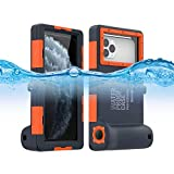 Waterproof Case for iPhone Professional [15m/50ft] Underwater Case for Diving Surfing Swimming Snorkeling Case with Lanyard (for iPhone 11 Pro)