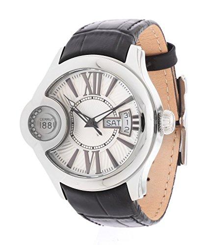 Cerruti Damen Armbanduhr Schwarz CRM043A212F