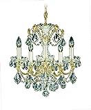Schonbek 1704-40 Swarovski Lighting Century Chandelier, 17' x 17' x 17', Silver