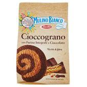 Mulino Bianco Biscotti Frollini Integrali Cioccograno con Farina Integrale e Cioccolato, 330g