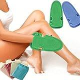 Binjor 2 styles 6 Pcs Gant Exfoliant microfibre En Bambou Naturel 2 Couches toilette...