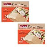 ALFAPAC - 6 sacs papillote - Fabriqué en France – Lot de 2