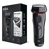 Braun 5030 Series 5 - Afeitadora Eléctrica Hombre, Afeitadora Barba, Recortador de Precisión...