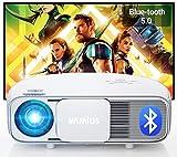 Vidéoprojecteur 7200 Bluetooth, Natif 1920x1080P Full HD, WiMiUS S4 LCD...