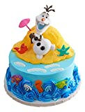 DecoPac Frozen Olaf Chillin' DecoSet Cake Topper