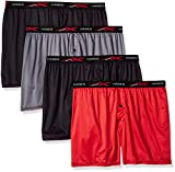 Hanes Men's X-Temp 4-Way Stretch Mesh Knit Boxer 4-Pack, Assorted, X Large