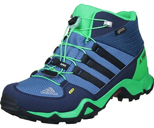 Adidas Unisex-Kinder Terrex Mid Gtx Wanderstiefel, Blau (Azubas/Negbas/Verene),...