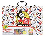 Crayola Mickey Inspiration Art Case, Gift for Kids, Age 5, 6, 7, 8