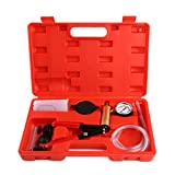 femor Brake Bleeder & Vacuum Pump Test Tuner Kit Tools with Case, 2 in 1 Automotive Tools with Adapters for Vehicle
