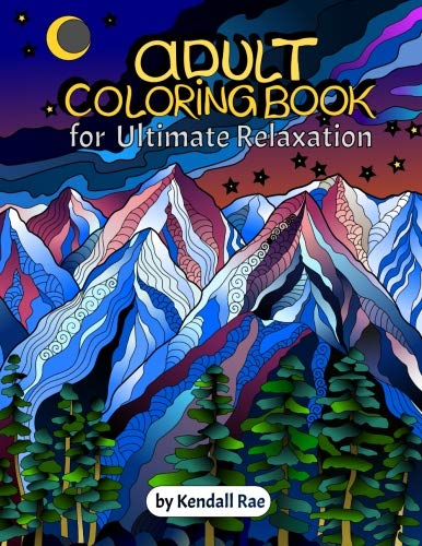 51lCc+xEhcL - The 7 Best Adult Coloring Books - A Creative Way to Unwind