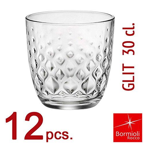 Bormioli Rocco - Set 12 Bicchieri Collezione GLIT 30 - capacità 30 cl. - (12)