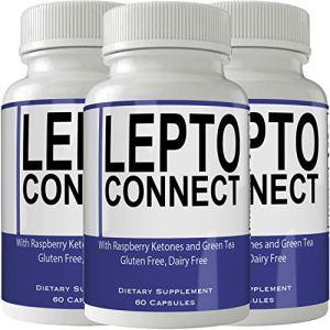 Leptoconnect Diet Pills Supplement (3 Bottle Pack) for Weight Loss Burn Pills Extra Strength Capsules Advanced Weight Loss Supplement Capsules with Garcinia, Raspberry Ketones 1 - My Weight Loss Today