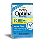 Nature's Way Fortify Optima 50 Billion Active HDS Probiotics Adult 50+, 30 Delayed Released Capsules