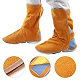 Chaussures de travail ignifuges Couvre chaussures de protection de soudage Opérations à haute température Protection du travail