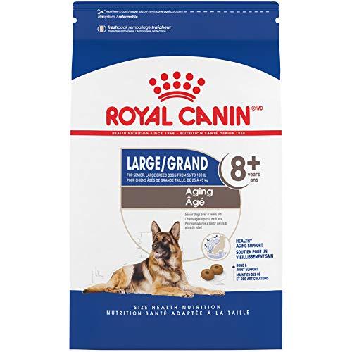 Royal Canin Large Aging 8+ Senior Dry Dog Food, 30...