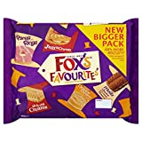 Fox's An assortment of cream-filled, plain & chocolate biscuits - Pack of 2 60% More Biscuits Delivery from the UK in 7-10 Days Allegern Information Contains Gluten