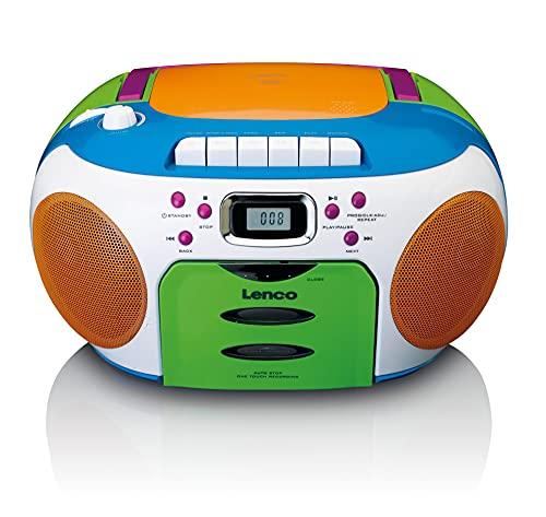 Lenco SCD-971 -Kinderradio - Kassettenradio mit CD -...