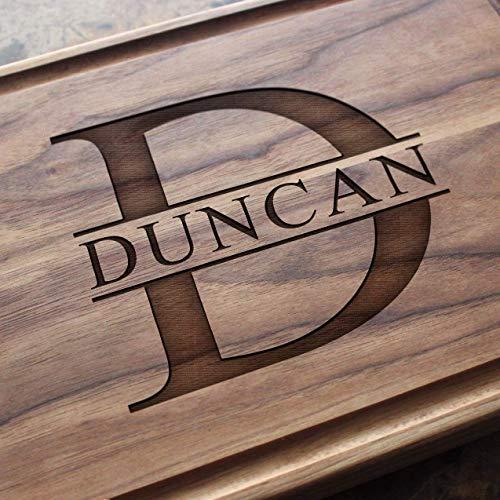 Monogrammed Engraved Cutting Board - Wedding or Housewarming...